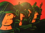 Obras de arte: America : Argentina : Santa_Fe : Rosario : Guerrilla