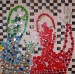 Obras de arte: Europa : España : Extremadura_Badajoz : badajoz_ciudad : Sensación bienestar pareja