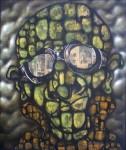 Obras de arte: America : Perú : Piura : Piura_ciudad : EL HOMBRE QUE LLEVA LA CUENTA