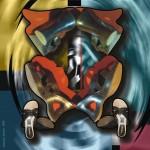 Obras de arte: America : Perú : Ucayali : PUCALLPA : Composición búho