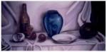 Obras de arte: America : Perú : Ucayali : PUCALLPA : Bodegón con jarrón azul