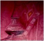 Obras de arte: America : Perú : Ucayali : PUCALLPA : Bodegón en violeta rosa