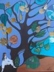 Obras de arte: America : Argentina : Buenos_Aires : La_Plata : Ana y el àrbol de la luna