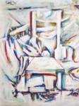 Obras de arte: America : Puerto_Rico : San_Juan_Puerto_Rico : Bayamón : Ante la silla de nis tentaciones
