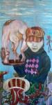 Obras de arte: Europa : España : Madrid : Madrid_ciudad : La vendedora