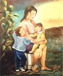 Obras de arte: Europa : España : Andalucía_Málaga : malaga : Maternidad