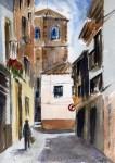 Obras de arte: Europa : España : Catalunya_Barcelona : Castelldefels : Torre calle Maestra