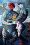 Obras de arte: America : Perú : Lima : miraflores : amantes
