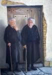Obras de arte: Europa : España : Principado_de_Asturias : Oviedo : Pilar y Teresa