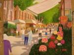 Obras de arte: Europa : España : Catalunya_Barcelona : Santpedor : La Rambla de las Flores, Barcelona