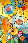 Obras de arte: America : Brasil : Sao_Paulo : Sao_Paulo_ciudad : andruchak - moça
