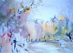 Obras de arte: Europa : España : Madrid : Alcorcón : Manzanares desde el Paseo de la Forida