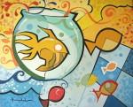Obras de arte: America : Brasil : Sao_Paulo : Sao_Paulo_ciudad : andruchak - aquario de paixes