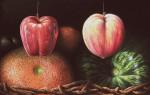 Obras de arte: America : Venezuela : Miranda : Caracas_ciudad : Frutas