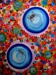 Obras de arte: Europa : España : Catalunya_Barcelona : Barcelona_ciudad : Mundos paralelos