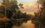 Obras de arte: America : Cuba : Ciudad_de_La_Habana : miramar_playa : Al final del río