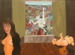 Obras de arte: America : Chile : Region_Metropolitana-Santiago : ñuñoa : La caída del ardillo