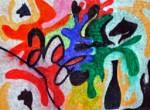 Obras de arte: Europa : España : Catalunya_Barcelona : BCN : Partido en pedazos