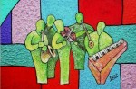 Obras de arte: America : Colombia : Santander_colombia : Bucaramanga : Banda Musical