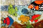 Obras de arte: America : Colombia : Santander_colombia : Bucaramanga : Peces 2