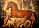Obras de arte: America : México : Mexico_Distrito-Federal : iztapalapa : Caballo de juego