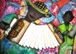 Obras de arte: America : Colombia : Santander_colombia : Bucaramanga : Homenaje Festival Vallenato