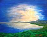 Obras de arte: America : Puerto_Rico : San_Juan_Puerto_Rico : Luquillo : Amanece en Fajardo
