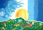 Obras de arte: America : Puerto_Rico : San_Juan_Puerto_Rico : Luquillo : Amanecer Musical