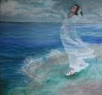 Obras de arte: America : Puerto_Rico : San_Juan_Puerto_Rico : Luquillo : ATARDECIENDO EN SAN JUAN
