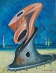 Obras de arte: America : Rep_Dominicana : Maria_Trinidad-Sanchez : El_Caribe : Apego