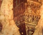 Obras de arte: Europa : España : Andalucía_Sevilla : Espartinas :  Capitel I (detalle)