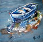Obras de arte: Europa : España : Catalunya_Tarragona : Banyeres_Penedes : Apuntes barcas II