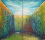 Obras de arte: America : Ecuador : Guayas : GUAYAQUIL : los tonos de los pensamientos en las paredes