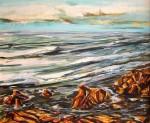 Obras de arte: Europa : España : Andalucía_Almería : Almeria : Una tarde frente al mar