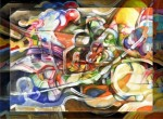 Obras de arte: America : Argentina : Cordoba : Unquillo : Última llamada para el subte