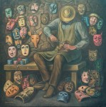 Obras de arte: America : México : Mexico_Distrito-Federal : iztapalapa : Hacedor de máscaras