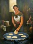 Obras de arte: America : México : Mexico_Distrito-Federal : iztapalapa : El comal (tortillera)