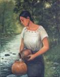 Obras de arte: America : México : Mexico_Distrito-Federal : iztapalapa : Agua de río