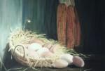 Obras de arte: Europa : España : Catalunya_Barcelona : Barcelona_ciudad : cistell amb ous