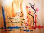 Obras de arte: America : Chile : Valparaiso : viña_del_mar : Vuelo azulo