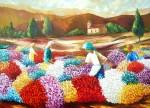 Obras de arte: America : Brasil : Rio_de_Janeiro : RiodeJaneiro : Colheita de Flores