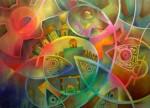 Obras de arte: America : México : Michoacan_de_Ocampo : Morelia : fuego nuevo