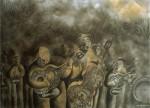 Obras de arte: America : México : Michoacan_de_Ocampo : Morelia : Amigos