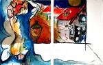 Obras de arte: Europa : España : Catalunya_Barcelona : BCN : de madrugada