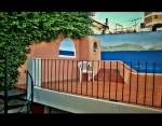 Obras de arte: America : Argentina : Buenos_Aires : Capital_Federal : Terraza sobre el mar