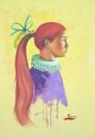 Obras de arte: America : Cuba : Pinar_del_Rio : Pinar_del_Río_ciudad : La Dama del Cabello Rojo