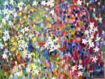 Obras de arte: America : México : Guanajuato : Guanajuato_capital : mas alla del jazmin que esta floreando