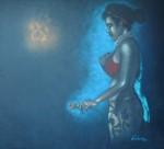 Obras de arte: America : Cuba : Pinar_del_Rio : Pinar_del_Río_ciudad : La triste amiga que vendio su amor