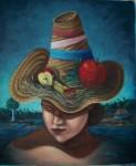 Obras de arte: America : Cuba : Pinar_del_Rio : Pinar_del_Río_ciudad : Mujer con Sombrero