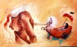 Obras de arte: America : Cuba : Pinar_del_Rio : Pinar_del_Río_ciudad : Cabalgando a Velázquez